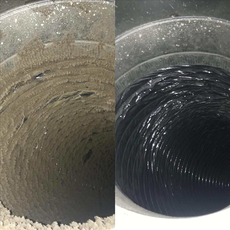 Dirty duct, clean duct