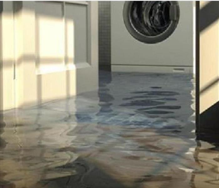 Water damage can be risky.