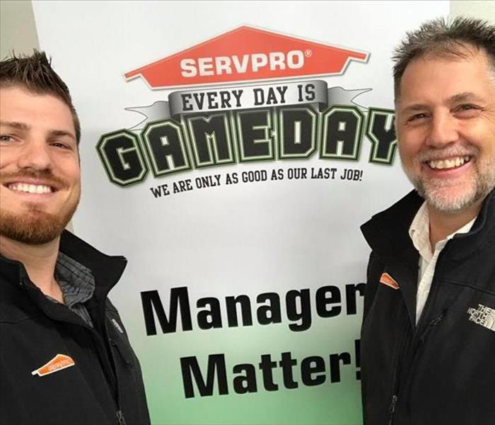 Why SERVPRO We want to help!
